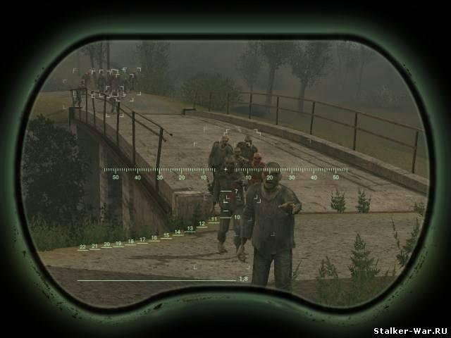 Новая версия мода МЕРТВЫЙ ГОРОД для игры S.T.A.L.K.E.R.: Call Of Pripyat.